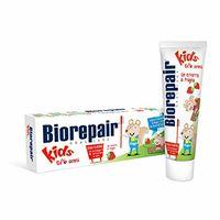 Biorepair Pasta de dinti Junior p/u copii, Capsuna, fara fluor 50ml (0-13ani) (GA1136100/GA1297600)