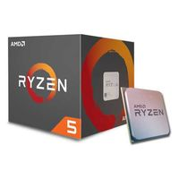 CPU AMD Ryzen 5 1400 (3.2-3.4GHz, 4C/8T,L2 2MB, L3 8MB,65W,14nm), Socket AM4, Box