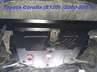 !                    TOYOTACorolla    2wdZER, ZZE2000-20061.4; 1.5 ; 1.6; 1.4D; 2.0DЗАЩИТА КАРТЕРА SHERIFF TOYOTACarolla Carola