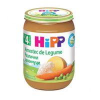 Hipp пюре смесь овощей 4+мес. 190г