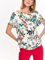 Блуза TOP SECRET Бежевый с принтом sbk2415