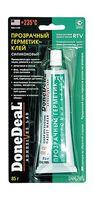 Герметик-клей прозрачный силик. для стекол 42.5гр, DD6703