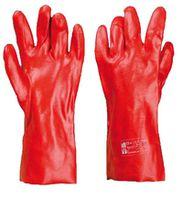 RPVCD - ПВХ перчатки, красные , Длина: 35см
