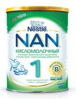 Nestle Nan 1 Кисломолочный молочная смесь, 0+ мес. 400г