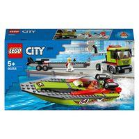 LEGO City Транспортировщик скоростных катеров, арт. 60254