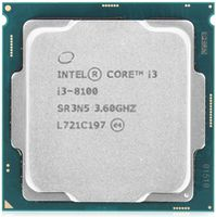 Intel Core i3-8100 3.6GHz Tray