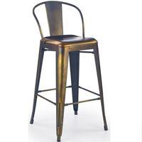 купить Барный стул, металлический Hoker H53 (yellow cooper) в Кишинёве