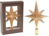 Верхушка елочная звезда 8-ми конечная 25cm