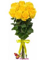 """купить Монобукет из  желтых роз """"ECUADOR"""" 50CM в Кишинёве"""