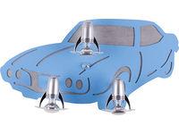 Светильник AUTO 3л синий 4058