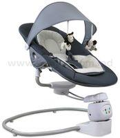 Baby Mix UR/BY002 D Укачивающий центр с адаптером (0-9 кг.) серый