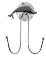 Крючок Дельфин хром. 291317