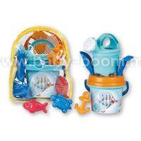 Androni 7245-00CF Набор для песка в рюкзаке Crazy Fish