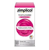 cumpără SIMPLICOL Intensiv - Fröhliches Pink, Vopsea pentru haine si textile in masina de spalat, Fröhliches Pink în Chișinău