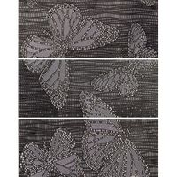 Keros Ceramica Декор Mariposa Brown 25x70см 3шт