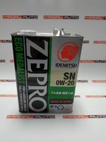 купить IDEMITSU ZEPRO ECOMEDALIST SN/GF-5 0W20(0W-20) 4L (3583004) в Кишинёве