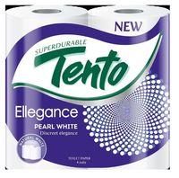 Туалетная бумага TENTO 3 слоя 17м*4 Pearl White