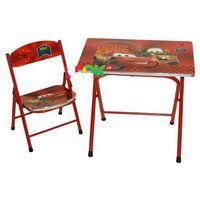 Cars столик со стульчиком для детей Тачки