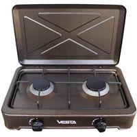 Настольная плита Vesta TT2-C/LPG, Brown