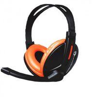 Наушники MARVO H8312 Black-Orange
