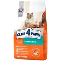 Клуб 4 лапы  для кастрированных кошек,5кг