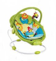 Baby Mix LCP-BR245-039-G Шезлонг с музыкой и вибрацией зелёный
