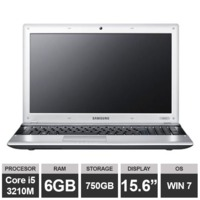 "Ноутбук Samsung 300E (15,6"" i5 3210M HDGraphics 6GB 750GB Win7) Gray"