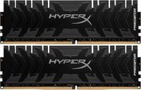 16GB (Kit of 2*8GB) DDR4-2400 HyperX® Predator DDR4, PC19200, CL12, 1.35V, Asymmetric BLACK low-profile heat spreader, Intel XMP Ready  (Extreme Memory Profiles)