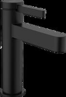 Finoris Baterie pentru lavoar 110 cu ventil Push-Open, negru mat