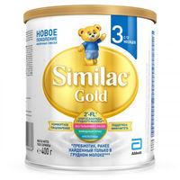 Similac Gold 3 молочная смесь, 12+мес. 400г