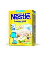Nestle каша рисовая молочная с яблоком, 4+мес. 220г