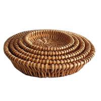 купить Набор 5 круглых  корзин из ивовых прутьев в Кишинёве