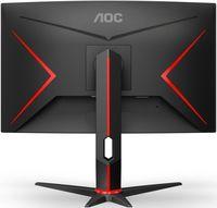 Monitor AOC C24G2U/BK Black/Red