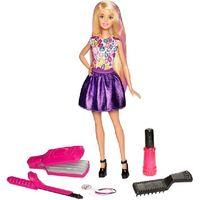 Mattel Барби кукла  Цветные локоны
