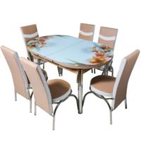 Овальный гарнитур 482 + 6 стульев