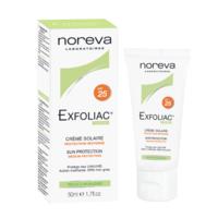 Noreva EXFOLIAC Crema SPF50 (protectia solara p/u ten problematic), 40 ml.