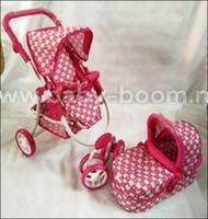 Baby Mix ME-9662M-M1806 Коляска для куклы 2в1