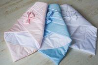Одеялко-конверт на выписку Special baby (90x90 см) Blue