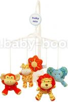 Baby Mix TK/418M Карусель плюш. Safari Animal