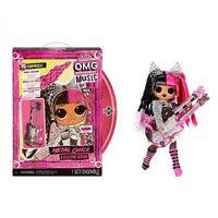 L.O.L  набор куклы O.M.G Metal Chic электрогитара