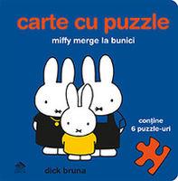 Miffy merge la bunici. Carte cu puzzle