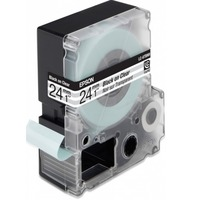 C53S627403 Tape Epson LC6TBN9 Clear Blk/Clear 24/9