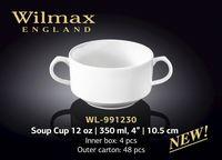 Bol pentru supa WILMAX WL-991230 (350 ml)