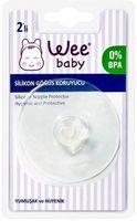 Защитные силиконовые накладки на грудь Wee baby