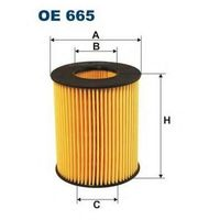 FILTRON OE665, Масляный фильтр