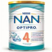 Nestle Nan 4 молочная смесь, 18+ мес. 400г