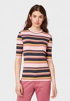Майка TOM TAILOR Цветная полоска 1013388 tom tailor