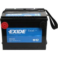 **АКБ Exide  US types 12V 60Ah  640EN  230x180x186 +/-
