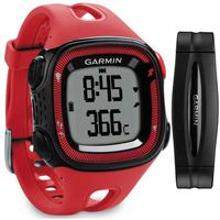 GARMIN Forerunner 15 Bundle - Large - Red & Black, 55x32, GPS