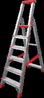 купить Стремянка с площадкой и лотком для инструмента (6ст - узкие) 3150106 в Кишинёве